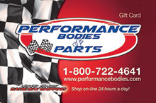 Performance Bodies Gift Card