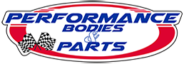 Performance Bodies & Parts footer logo. Click to be redirected to home page.