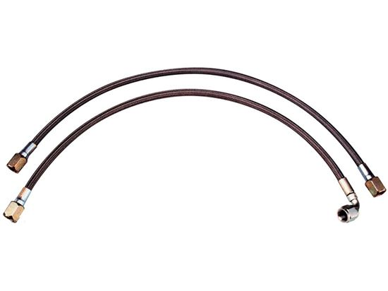 Picture of PRP Stainless Braided #4 Lines w/1 - 90 & 1 - Straight