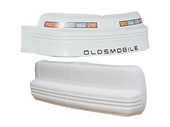 Picture of Nose/Tail - Cutlass - White & Black