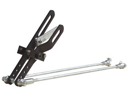 Picture of PRP 2 Lever Shifter w/Lock & Clevis - Black