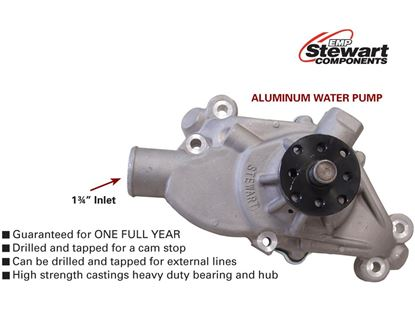 "Picture of Stewart Stage 3 Water Pump - Short - 3/4"" Shaft"