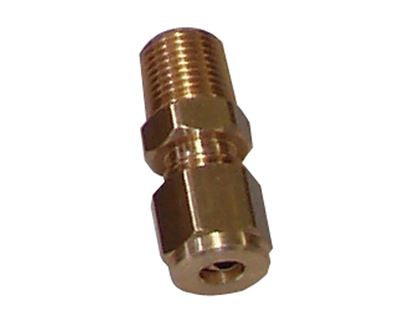 "Picture of PRP Plastic Brake Line Fitting - 1/8"" - Straight"