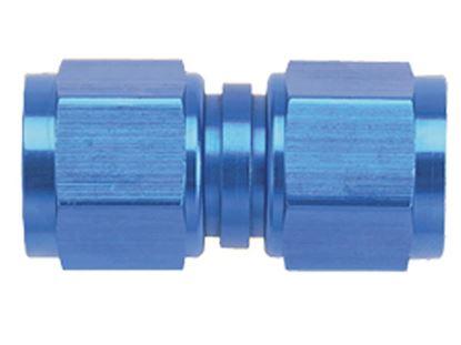 Picture of Fragola Aluminum Female Connectors - Blue/Black