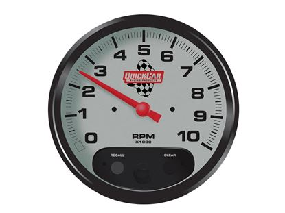 "Picture of Quickcar Tach 5"" With Recall"