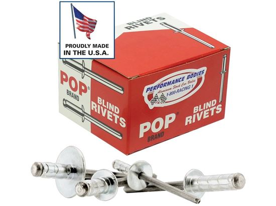 "Picture of POP Rivets - Multi Grip 3/16""  Boxes of 250"