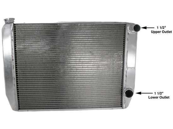 Picture of Griffin Chevy Radiators - Double Pass