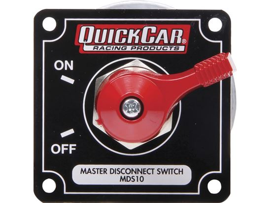 Picture of Quickcar Master Disconnect Switch with Alternator