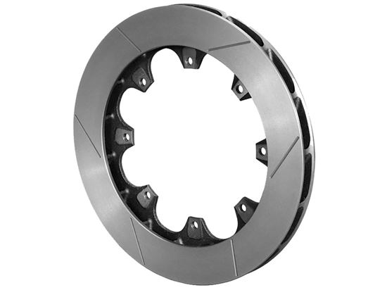 Picture of Wilwood Slotted HD 36 Curved Vane Rotors