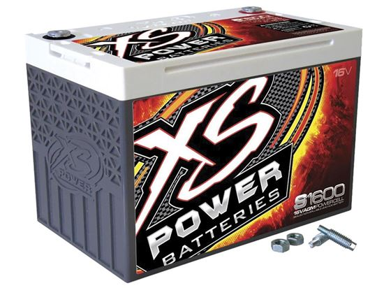 Picture of XS 16 Volt AGM Battery - Max Amps: 2000 CA 500