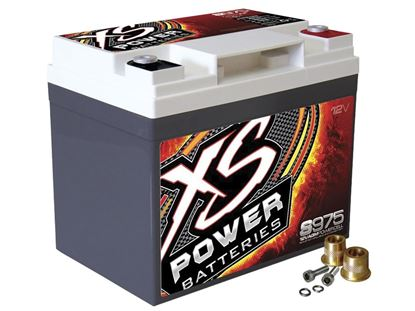 Picture of XS 12 Volt AGM Battery - Max Amps: 2100 CA 525