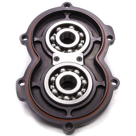 Picture of Bulldog Billet Aluminum Rear Cover W/Bearings-Black