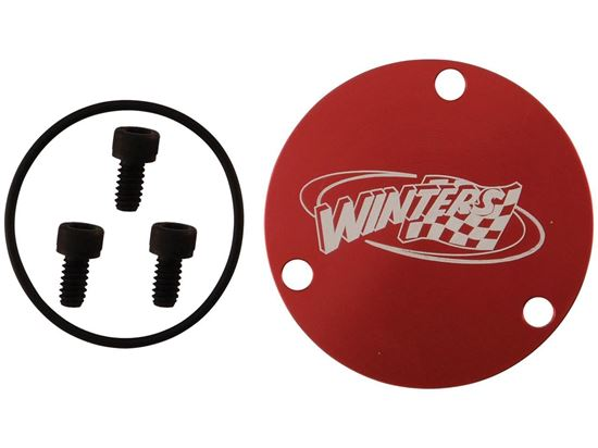Picture of Winters GN Hub Dust Cap Kit - (Cap,3 screws,O-Ring)