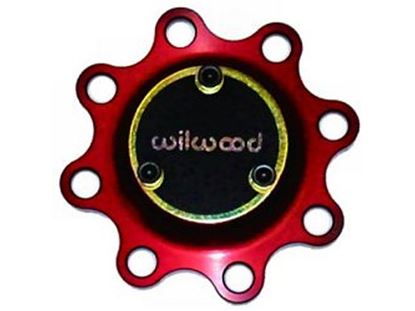 Picture of Wilwood Wide 5 Hub - 8-Bolt Drive Flange - Red