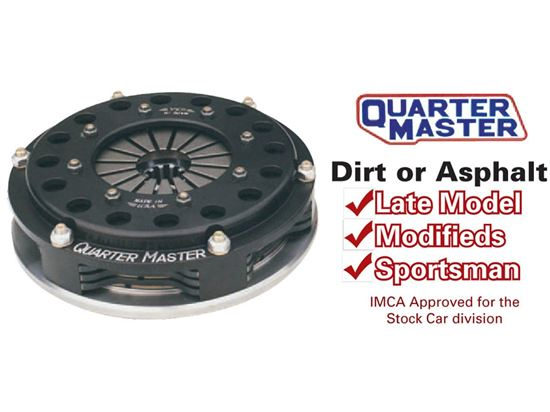 """Picture of QuarterMaster Clutches - 7.25"""" V Drive"""