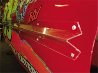 """Picture of Lexan Decal Protection Kit - (3) 4"""" x 72"""" Pieces"""