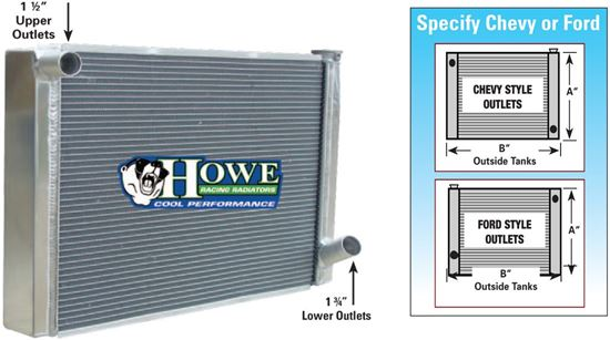 Picture of Howe Radiators - Ford