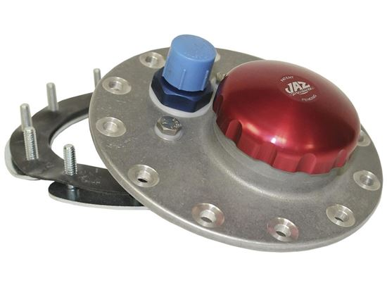 Picture of Jaz 12 Bolt Cap Assembly with Red Anodized Cap