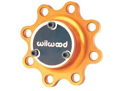Picture of Wilwood Wide 5 Hub - 8-Bolt Drive Flange - Gold