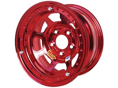 "Picture of AERO 53 Series - Colored Chrome 15"" x 8"" Beadlock Wheels - IMCA"