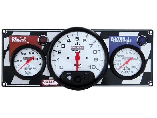 "Picture of Quickcar Gauge Panels w/ 5"" Tachometer"
