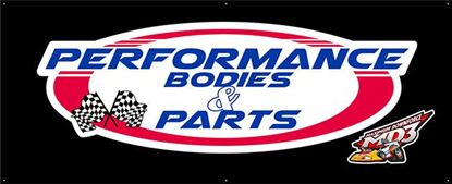 "Picture of Performance Bodies Banner 37"" x 89"""