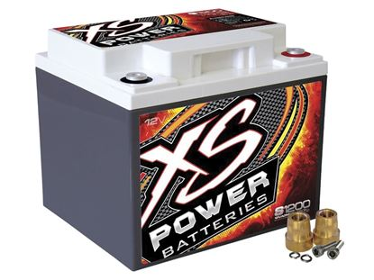 Picture of Battery - XS 12 Volt AGM - Max Amps: 2600 CA 725