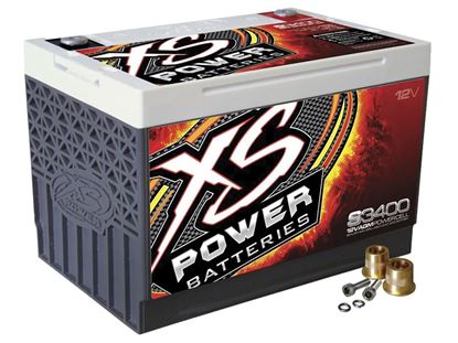 Picture of Battery - XS 12 Volt AGM - Max Amps: 330 CA 1000
