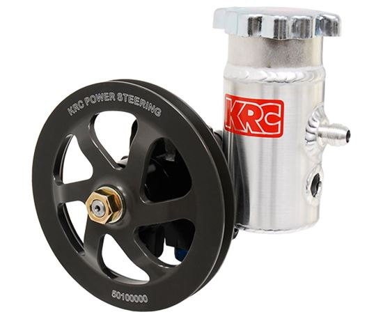 Picture of KRC Cast Power Steering Pump with Bolt-On Tank Pulley