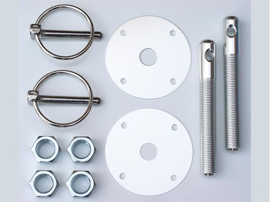 Picture of PRP Hood Pin Kits - Aluminum - Flip Over Style
