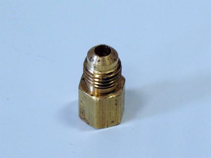 """Picture of PRP Gauge Fitting 1/8"""" Fnpt - #4 AN Straight"""