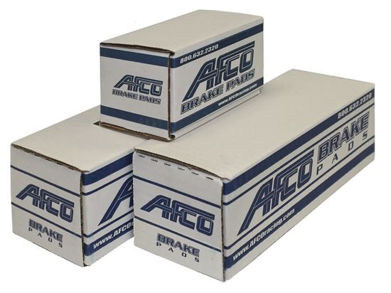 Picture of AFCO Brake Pads - GM Metric SR Axle Set