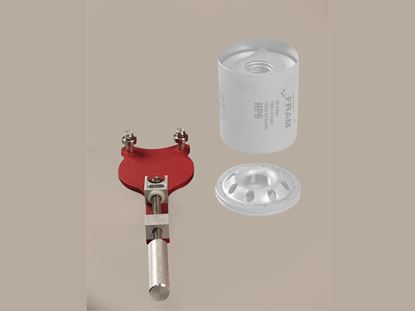 Picture of Longacre Billet Aluminum Oil Filter Cutter