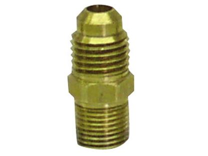 "Picture of PRP Block Fitting 1/8"" Mnpt - #4 AN Straight"
