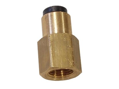 """Picture of PRP 1/8"""" Female To 1/8 Push In Line Adapter"""