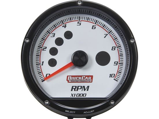 """Picture of QuickCar Tachometers - 3"""" Multi Recall"""