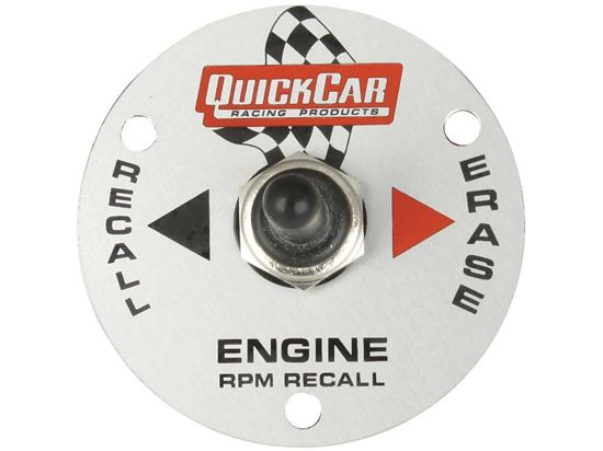 """Picture of Quickcar Tach 3 3/8"""" Replacement Remote Recall Switch"""