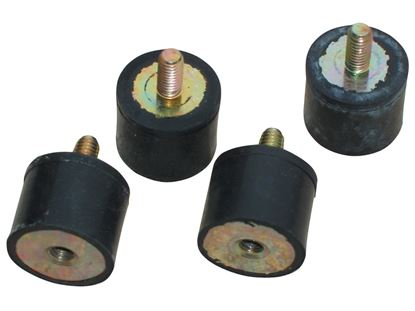 Picture of MSD Vibration Mounts For 5 & 6 Box - 4pack