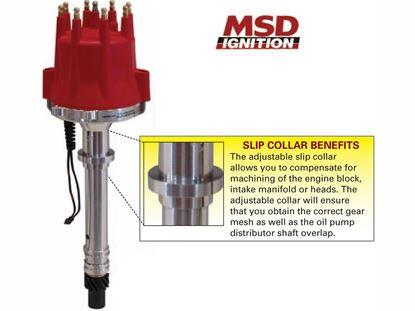 Picture of MSD Distributor - Chevy Pro Billet Small Diameter