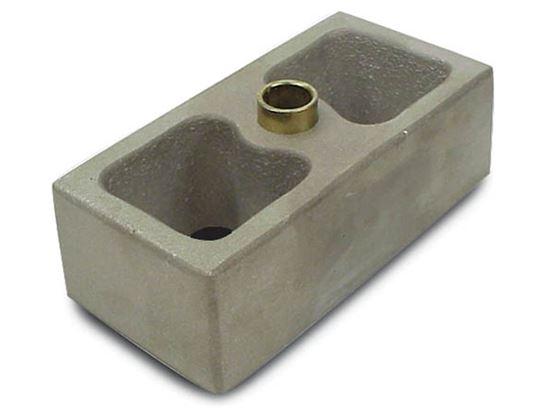 Picture of AFCO Leaf Spring Aluminum Lowering Blocks