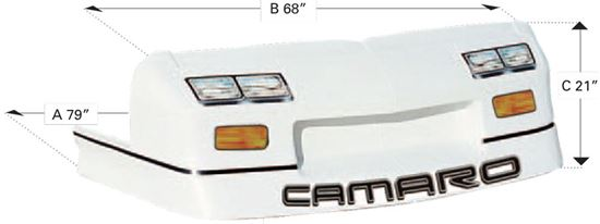 Picture of 92 Iroc-Z Camaro Nosepiece