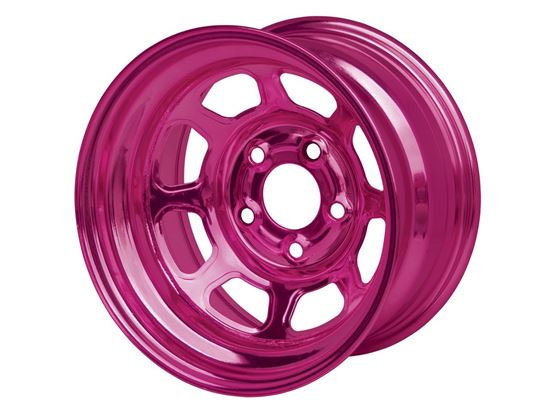 "Picture of AEROBRITE 52 Series Wheels - 15"" x 8"" - Color Chrome  - IMCA"