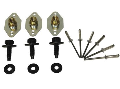 Picture of PRP Wheel Cover Nutserts w/Bolt & Hardware