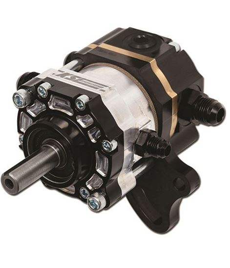 "Picture of KSE Tandem X Pump - 5/8"" Keyed Shaft - Fuel/PS"