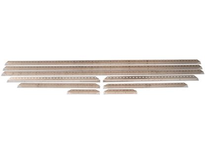 Picture of Aluminum Drilled Body Brace Kits - (9 Pc.)