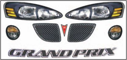 Picture of ABC Headlight/Taillight Decal Sets