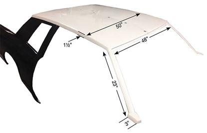 Picture of 81-88 Monte Carlo 2-Piece Fiberglass Roof Kit