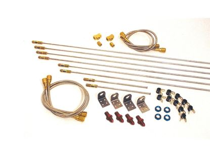 Picture of Longacre Complete Steel Brake Line Kit