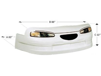 Picture of 97 Thunderbird - Nose Only - White